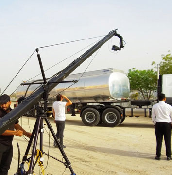 Next Generation Ford 3543T was shot by Skyrocket in Dubai 1
