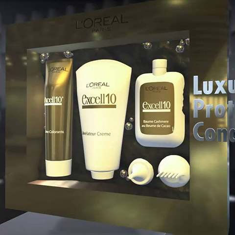L'Oreal Excell10 Commercial 1
