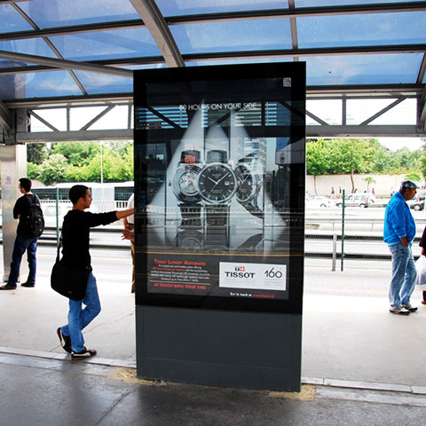Tissot Outdoor Ad 1